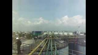 Pelabuhan Dumai; Mengukur Volume Tangki CPO