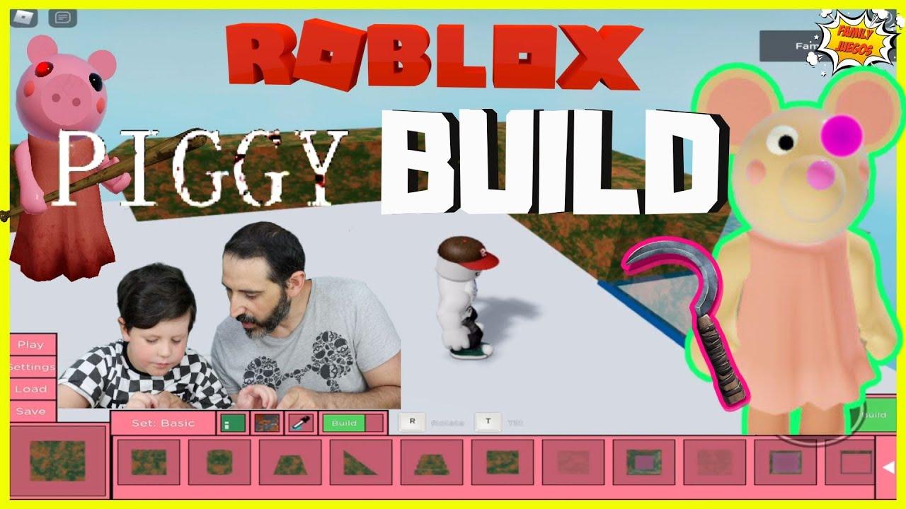 Piggy en nuevo modo creador! Construye tu propio mapa nuevo skin Mousy | Juegos Roblox en español