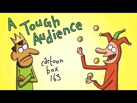 A Tough Audience | Cartoon Box 163 | By Frame Order | Dark Humor Cartoons