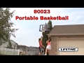 """Lifetime 90023 44"""" Portable Adjustable Basketball Goal"""