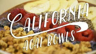 California Acai Bowls