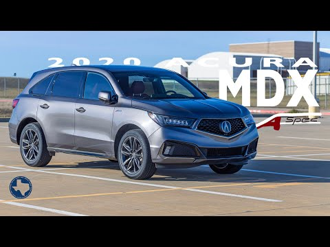 Bigger Bolder SUV - The 2020 Acura MDX A-Spec Full Review