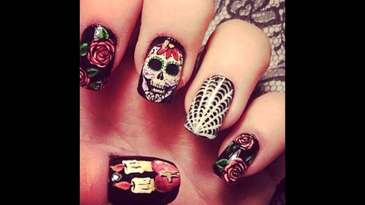 Decoracion Uas Halloween Finest Top Halloween Nail Art Stamping