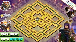 NEW Undefeated Town Hall 11 (Th11) War Base 2018 With Replay   Anti Everything - Clash of Clans