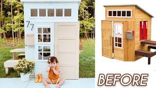modern playhouse transformation!!