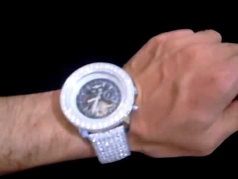 Breitling Bentley Watch >> $850 MR. FROST BOSS STYLE FULLY LOADED BREITLING WATCH ...