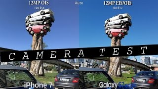 iPhone 7 vs Samsung Galaxy S7 Edge - Camera Test Comparison Review! (60FPS)
