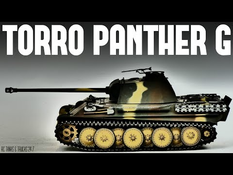 TORRO PANTHER G Late Version 1/16 RC Tank - Full Review