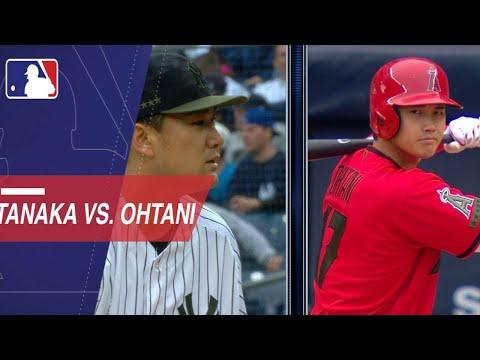 Shohei Ohtani vs. Masahiro Tanaka in the Bronx