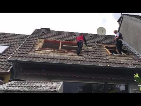 Dachfenster Einbau mit Wechsel