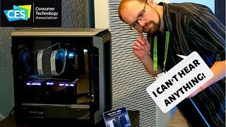A Silent Case with Great Airflow!?! - Phanteks at CES 2019