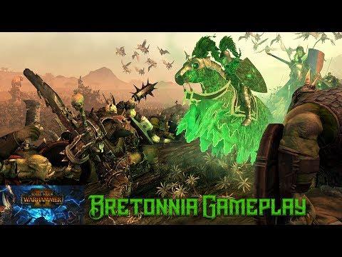 45 Minutes of Total War: Warhammer 2 (Mortal Empires) Gameplay - 🐎Bretonnian Kingdoms Faction