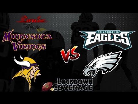 NFL Football 2016 Recap: Vikings vs. Eagles (Week 7 ...