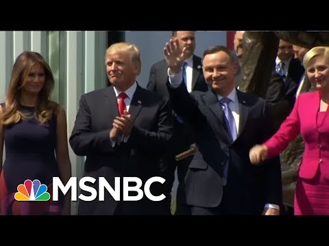 Donald Trump's Second Overseas Trip May Isolate U.S. | AM Joy | MSNBC