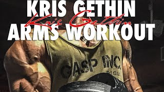 KRIS GETHIN | INSTINCTIVE ARM WORKOUT