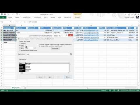 Excel for Business Tutorial | Managing Customers, Vendors, and Employees - Part 2