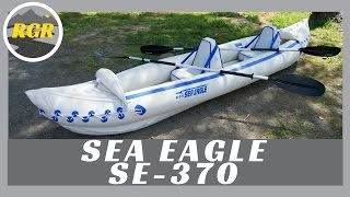 Inflatable Kayak SE-370 by Sea Eagle  Product Review  Portable  Lightweight Inflatable Kayak
