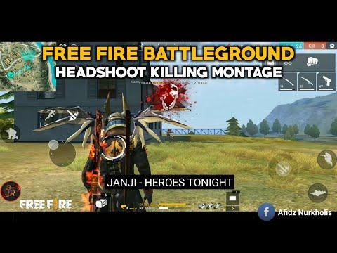 HEADSHOOT KILLING MONTAGE | JANJI - HEROES TONIGHT
