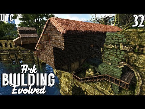Wood, Thatch, and Tangerine Paint :: Ark Building Evolved w/ UTC :: Ep. 32