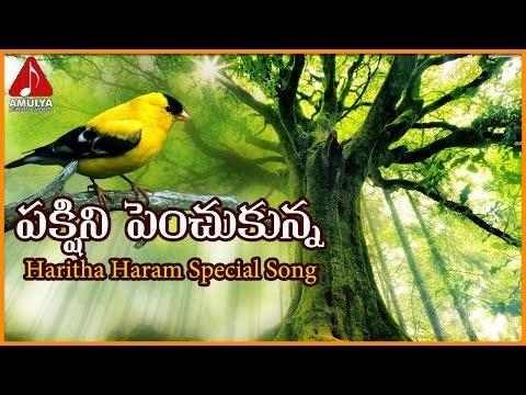 Haritha Haram Special Telugu Video Songs | Pakshini Penchukunna Telangana Song | Importance Of Trees