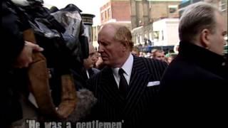 Bartley Gorman interviewed at Reg Kray's Funeral
