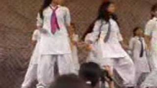 peshawar school girls dance party