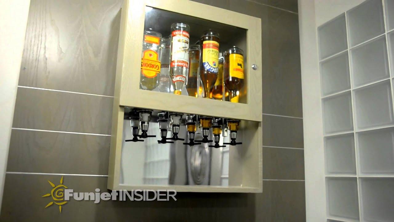 Liquor Dispenser In Hotel Rooms