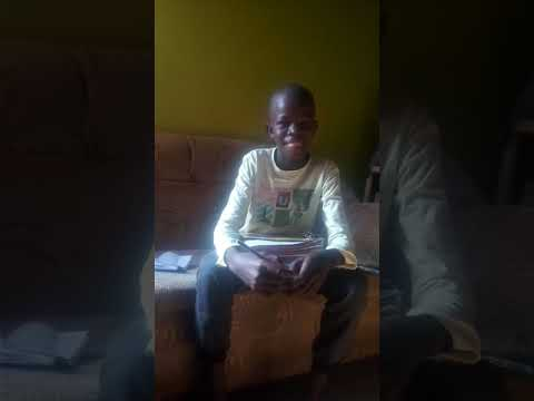 Slum boy seeking help