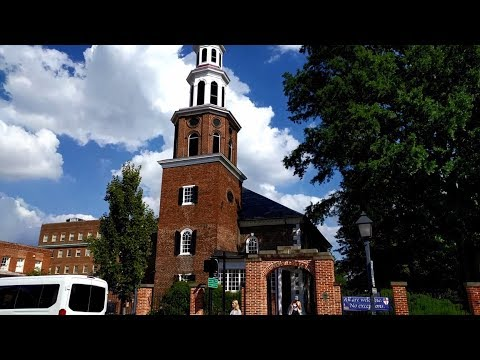 Tour of Christ Church in Alexandria, Virginia