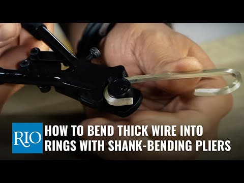 How To Use Ring Shank-Bending Pliers