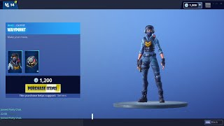 Peau wayPoint 'NEW' 60 Second Fortnite Shop (Fortnite Battle Royale)