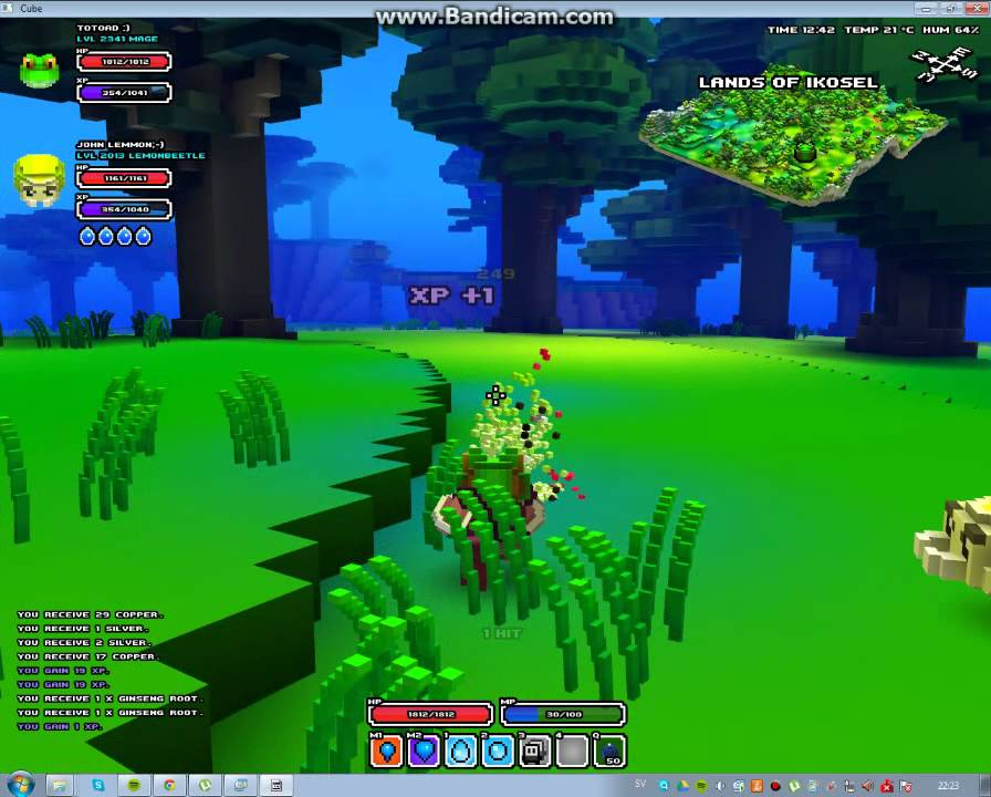 Free cube world high level characters youtube free cube world high level characters gumiabroncs Choice Image