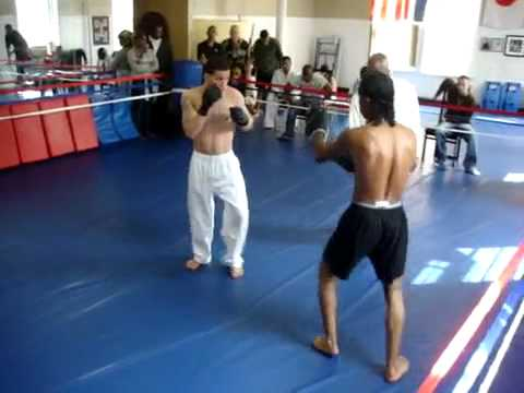 Wing Chun VS Kick boxer