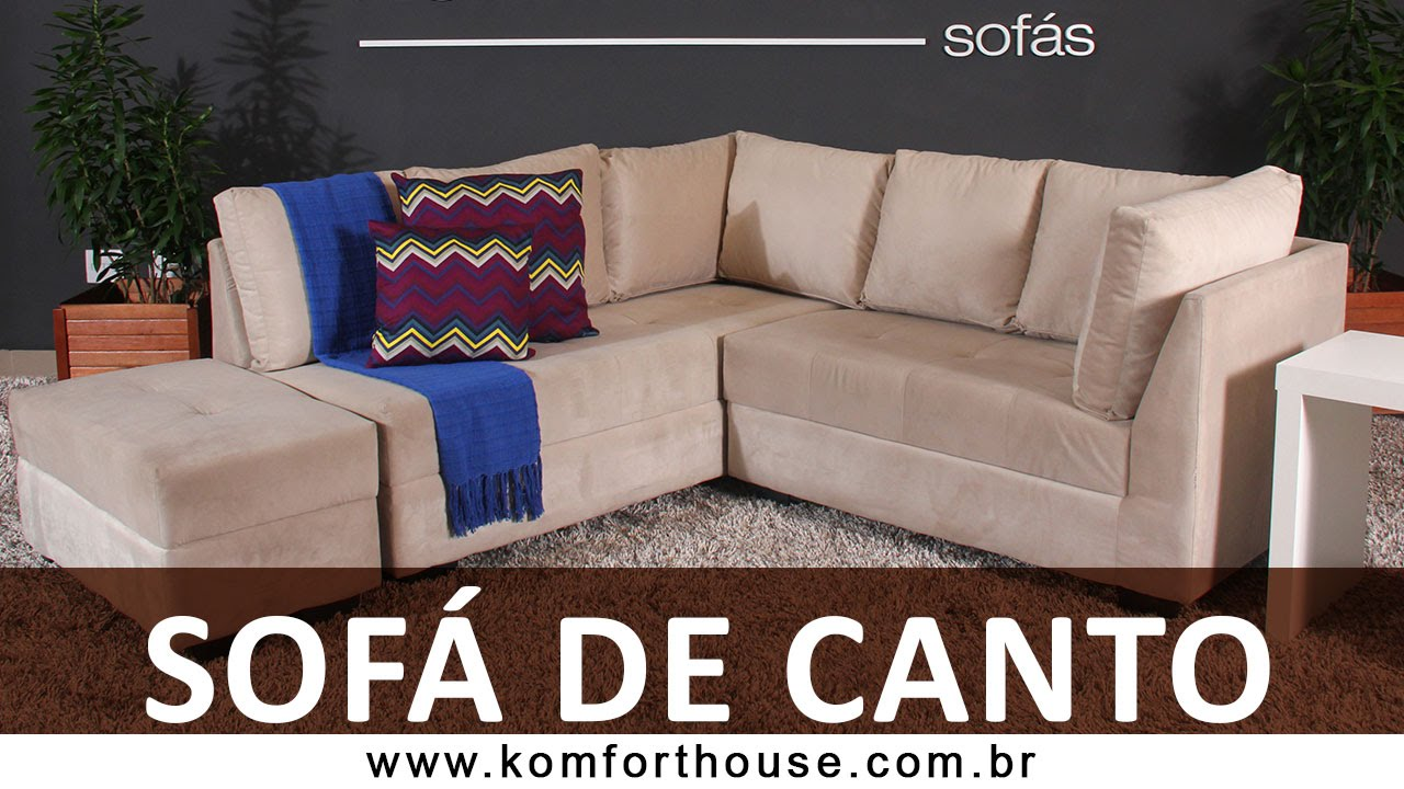 promo o sof s de canto komfort house youtube. Black Bedroom Furniture Sets. Home Design Ideas