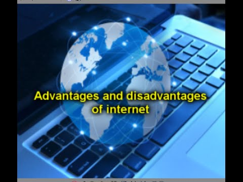 disadvantage of internet Informative site on all that the internet has to offer describes the numerous advantes of the internet, as well as the unfortunate disadvantages of the world wide web, as well.