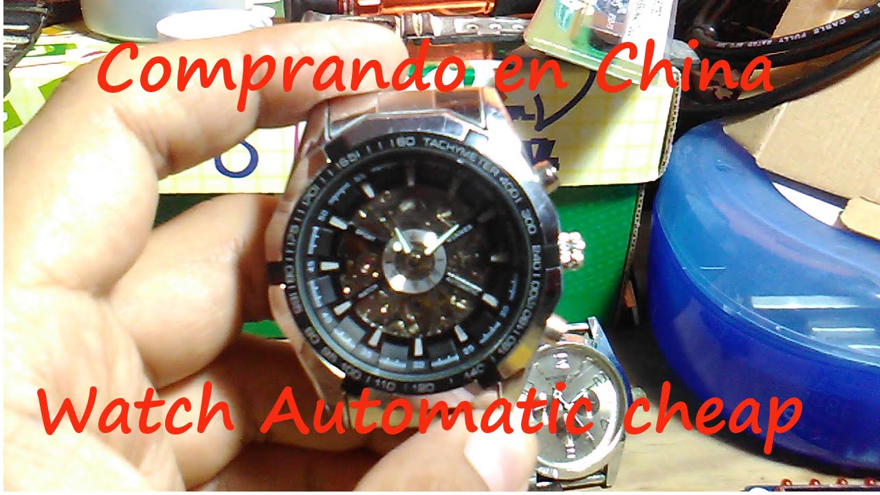 8093b313ce08 Comprando en China - Watch Automatic- Reloj Automatico - YouTube