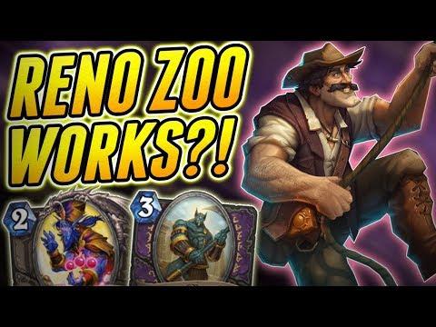 Zephyrus, Reno & Kazakus | Reno Zoo Warlock | Wild Hearthstone Saviors of Uldum