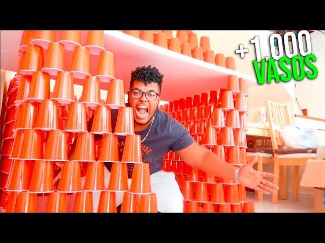 hacemos-una-casa-con-1-000-vasos-dentro-de-la-nueva-casa