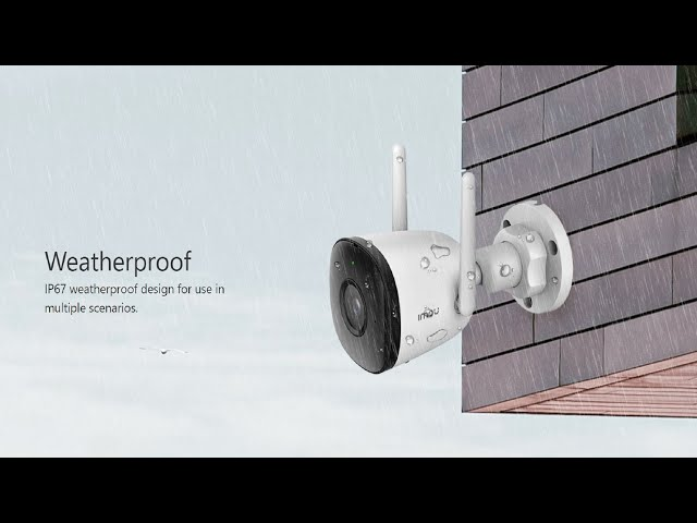 Stop Lockdown Thieves 2: Home security IMOU Bullit 2C External Security Camera