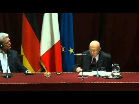 """Conference opening of the """"Italian German High Level Dialogue"""" December 11, 2014, Torino - Italy"""