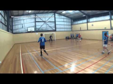 Futsal Fever Mulgrave Season 4 Week 1 Whoppers United vs Melbourne Evertonians
