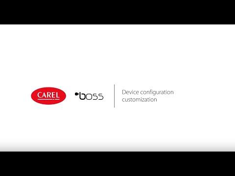 CAREL Boss - Device Configuration Customization