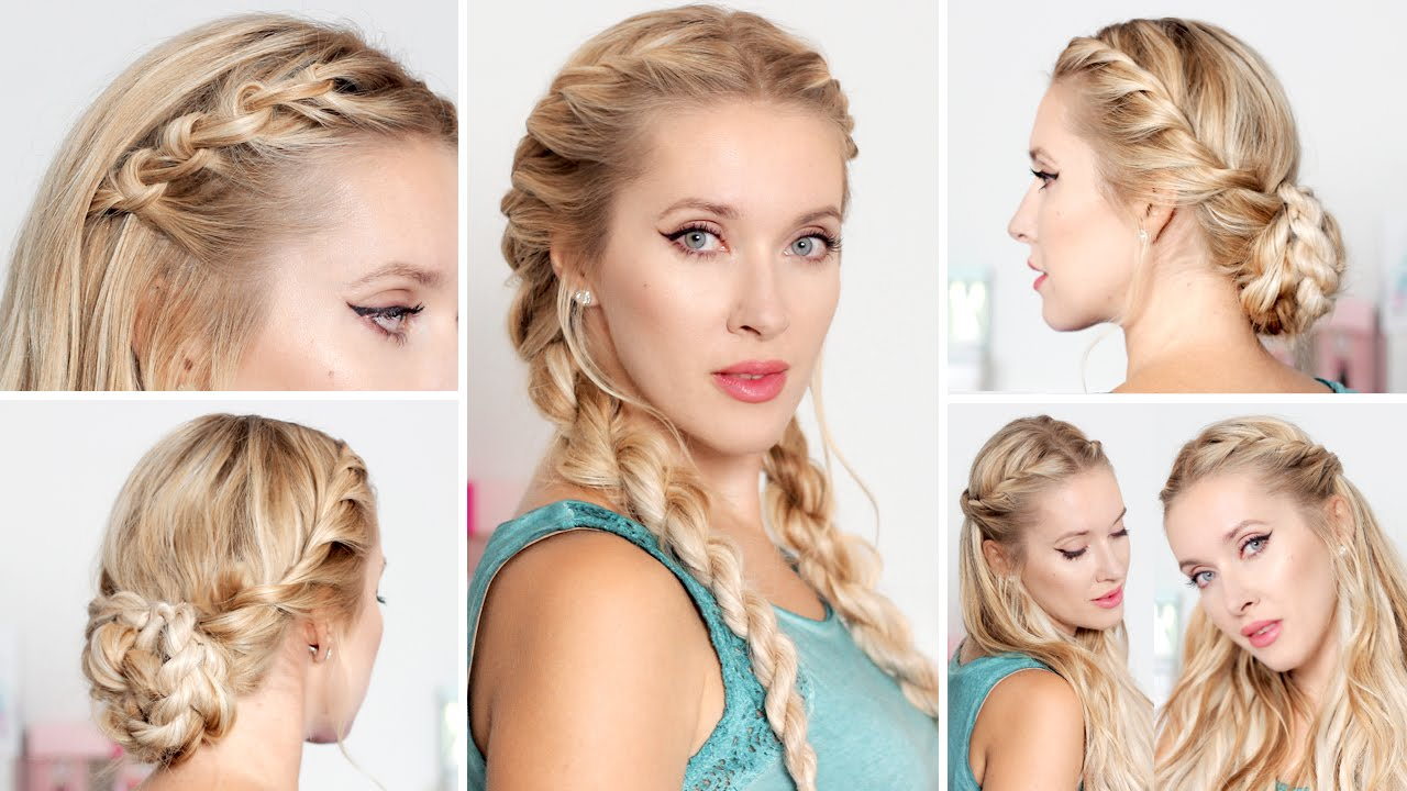 Cute Easy Hairstyles For School, Medium Long Hair