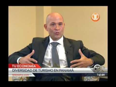 Telemetro administrador de la ATP Gustavo Him, diversidad de turismo en panamá