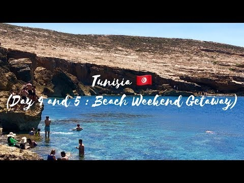 Vlog Chapter 21 : Day 4 and 5 (Beach Weekend Getaway) - Tunisia 🇹🇳
