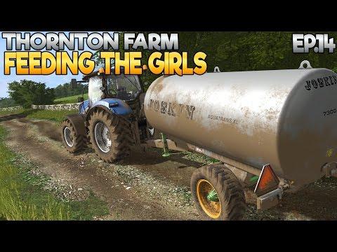 Thornton Farm - Farming Simulator 17 -  Ep.14 (with Wheel Cam)