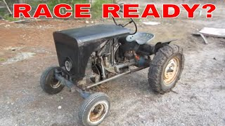 Barn Find Homemade tractor, could it Be Saved, pt 3 of 3.