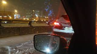 The New Jersey pileup @ GWB @ Fort Lee to Manhattan. 11/15/18