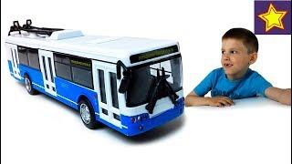 Городской транспорт Троллейбус Машинки и спецтехника для детей Toys for kids
