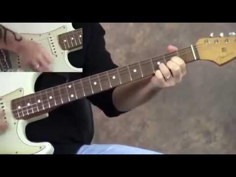 Steve Stine Guitar Lesson - Tips to Play 12 Bar Blues Blues Rhythm